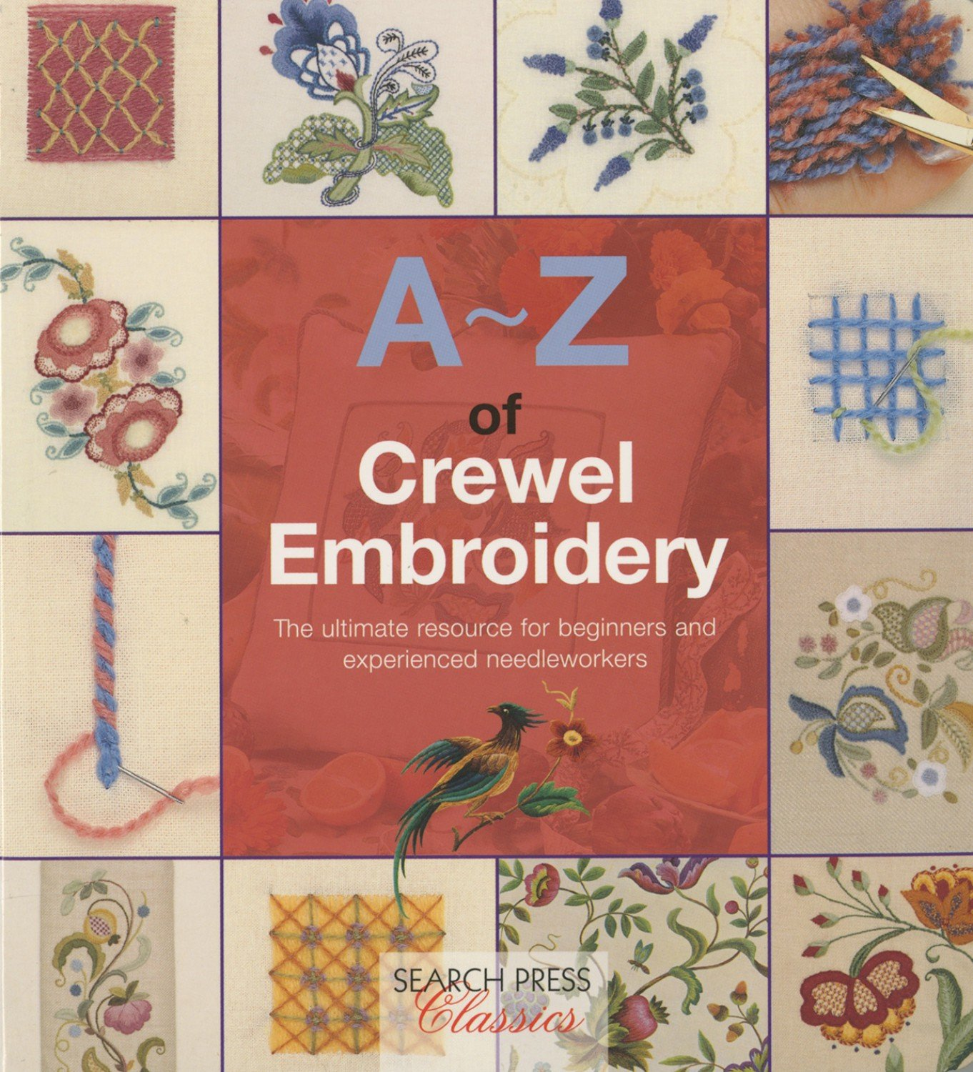 A-Z of Crewel Embroidery - Softcover