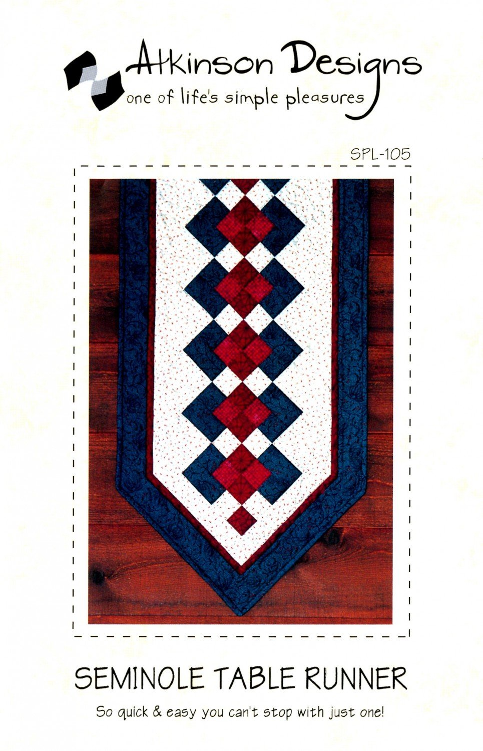 Seminole Table Runner