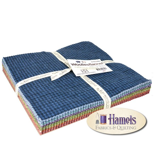 Woolies Flannel 10 Squares - Colors