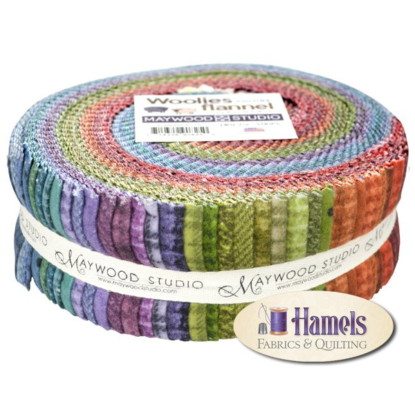 Woolies Flannel Colors Jelly Roll