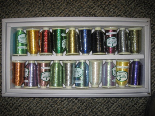 Marathon Metallic Starter Kit Embroidery Thread #9