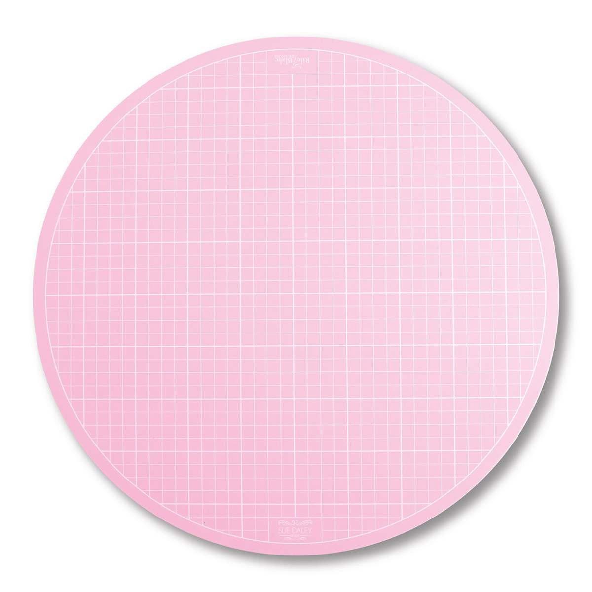 Rotating Cutting Mat 10in diameter (Pink)