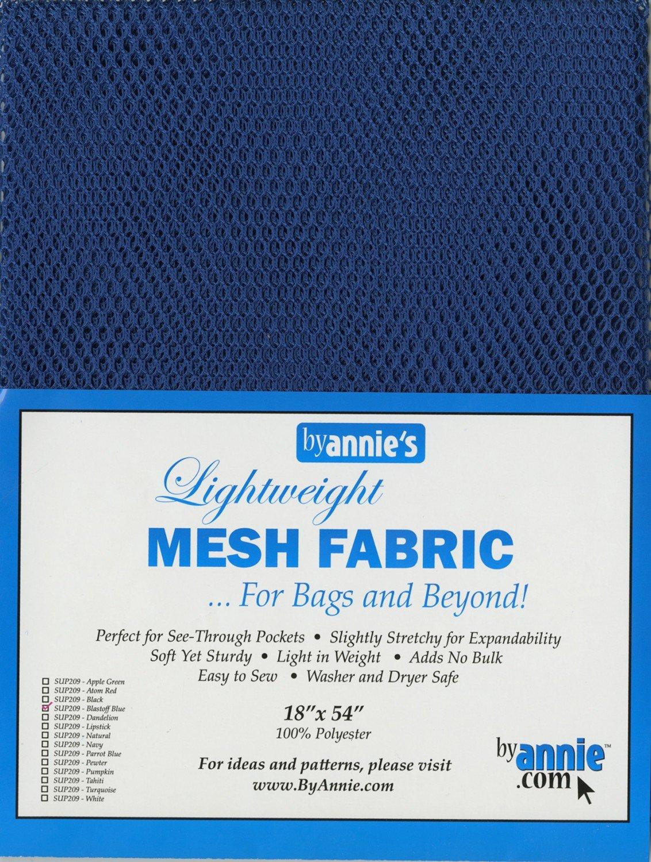 Mesh Lite Weight Blastoff Blue - 18x54in