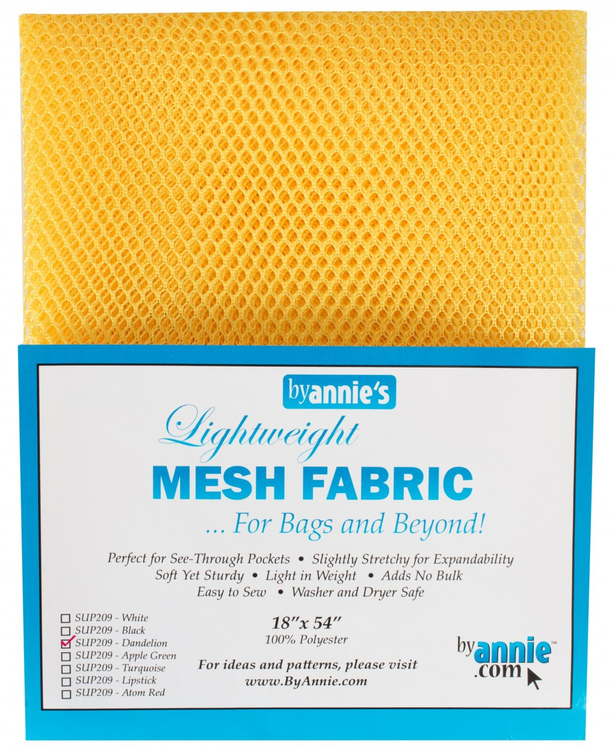 Mesh Lite Weight Dandelion - 18x54in