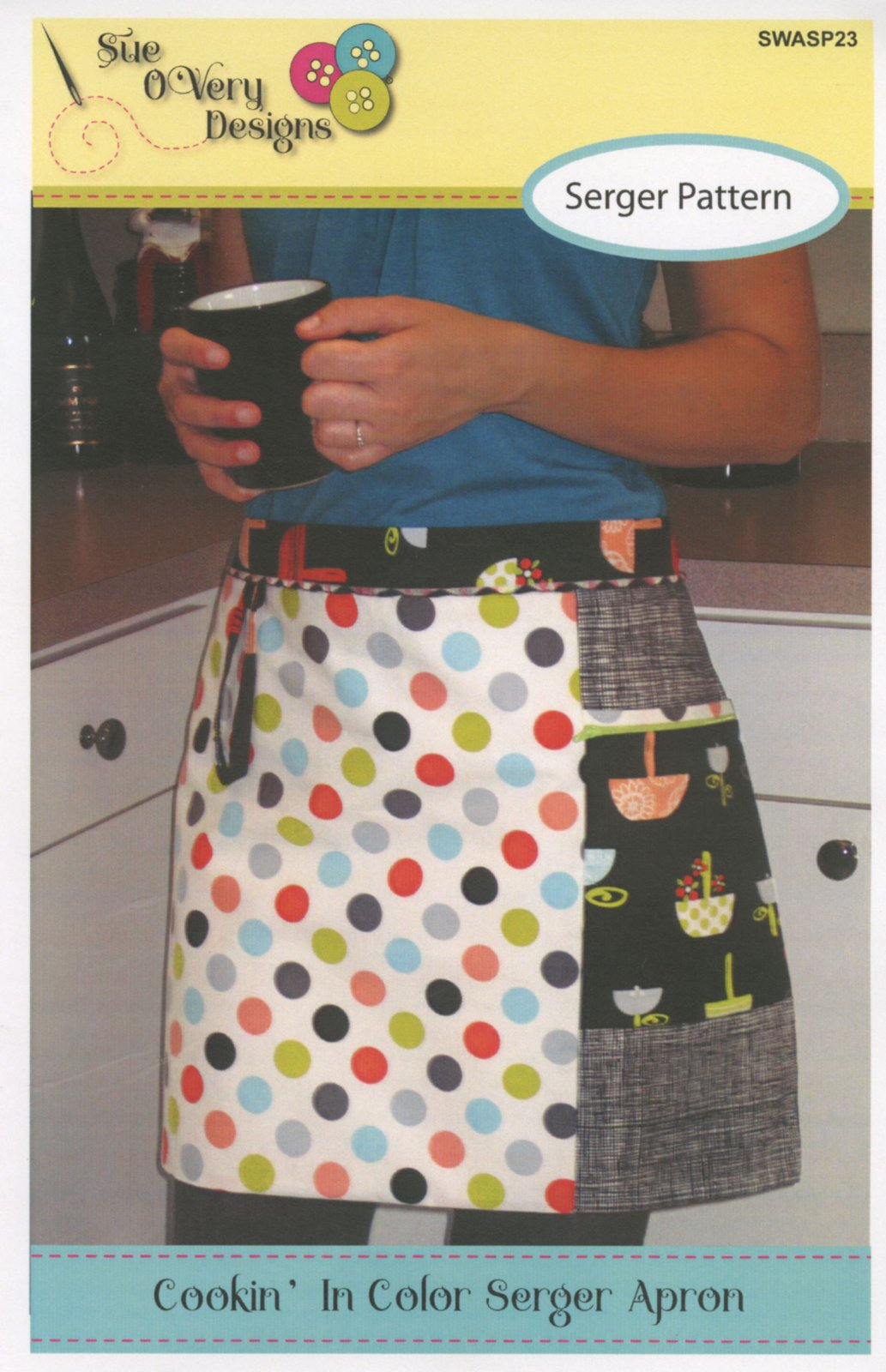 Cookin In Color Serger Apron