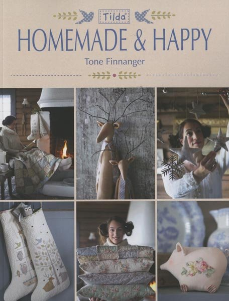 Tilda Homemade & Happy - Softcover