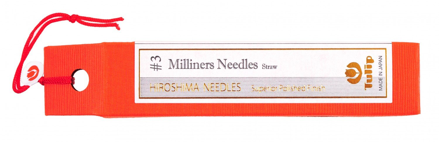 Tulip Milliners Needles Straw No 3
