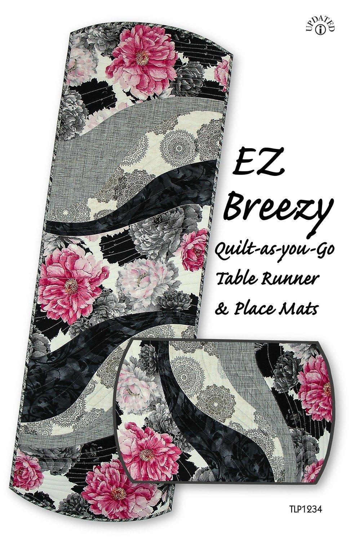 EZ Breezy Quilt-as-you-Go Table Runner & Place Mats