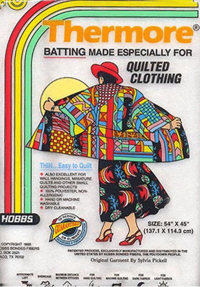Hobbs Thermore Batting for Quilted Clothing