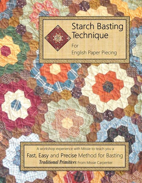 Starch Basting Technique for English Paper Piecing - Softcover