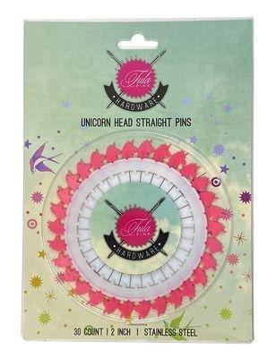 Tula Pink Unicorn Pins