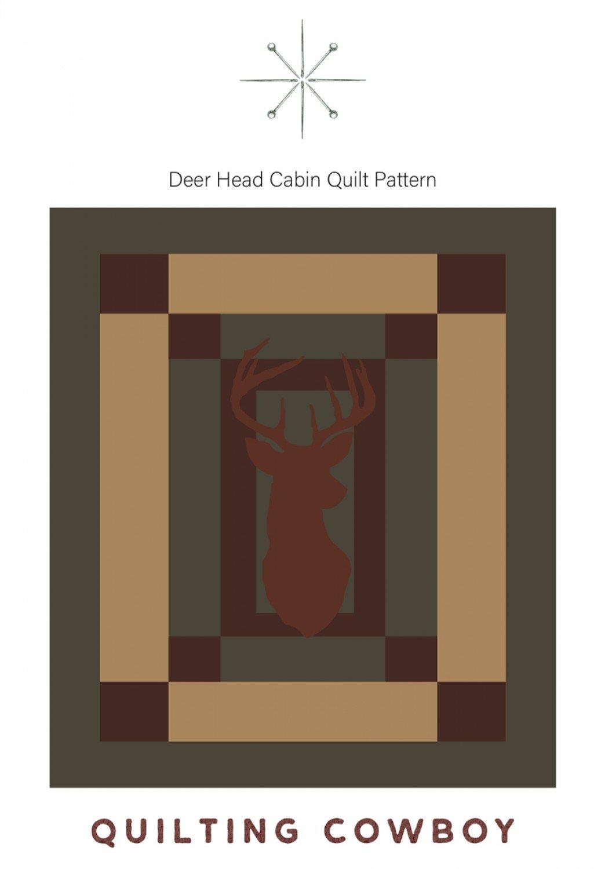 Deer Head Cabin Quilt
