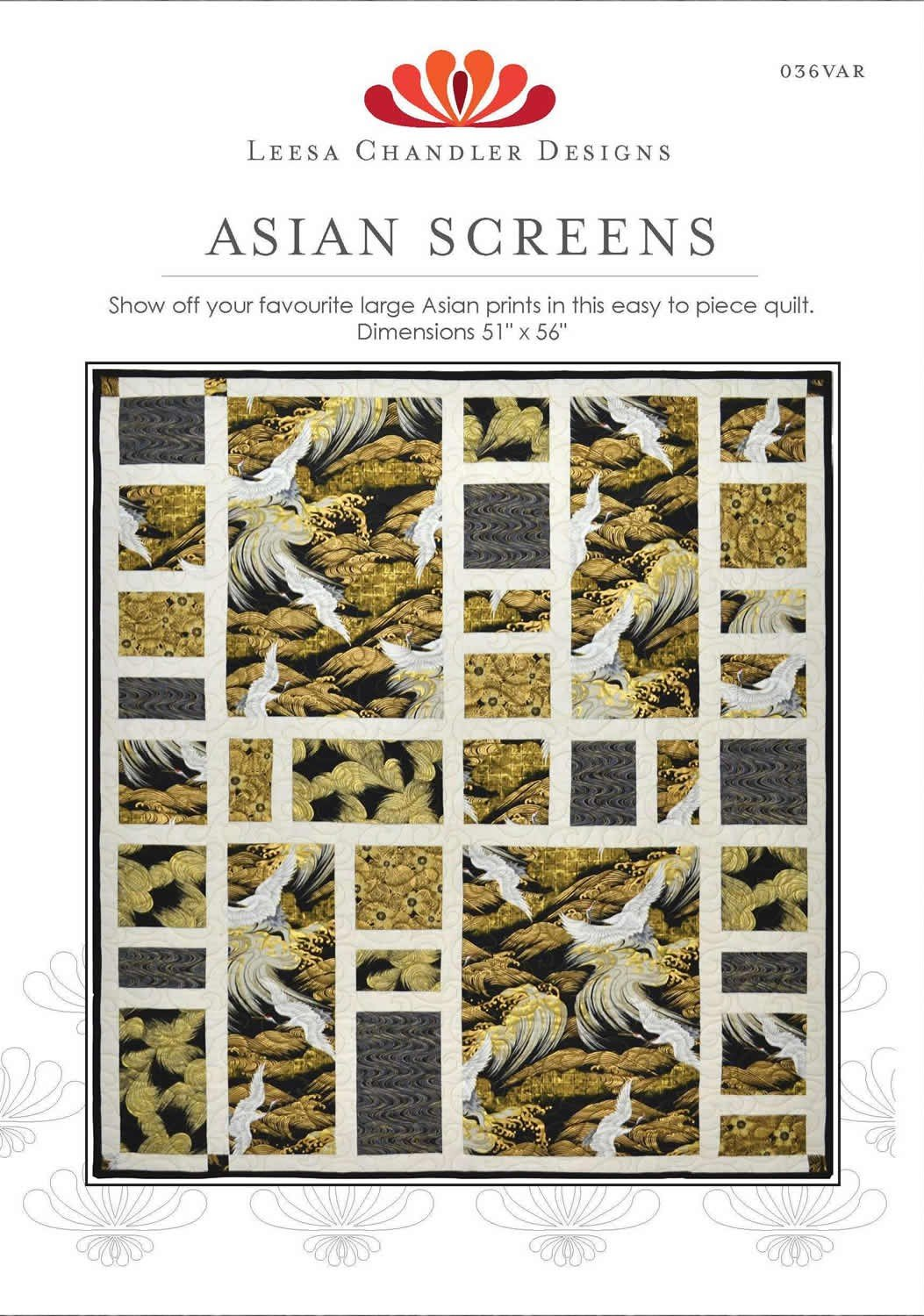 Asian Screens Quilt