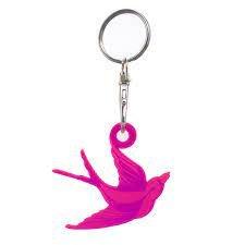 Tula Pink Bird Fob - Acrylic
