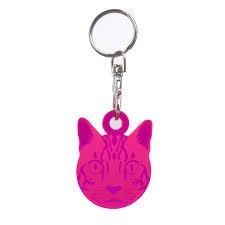 Tula Pink Cat Fob - Acrylic
