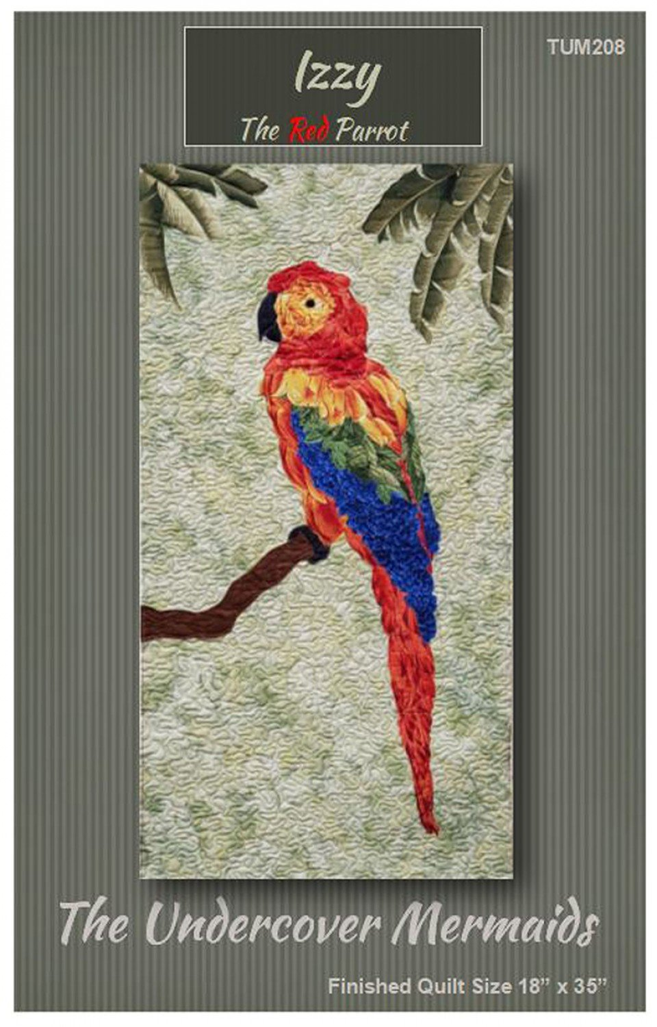 Izzy The Red Parrot