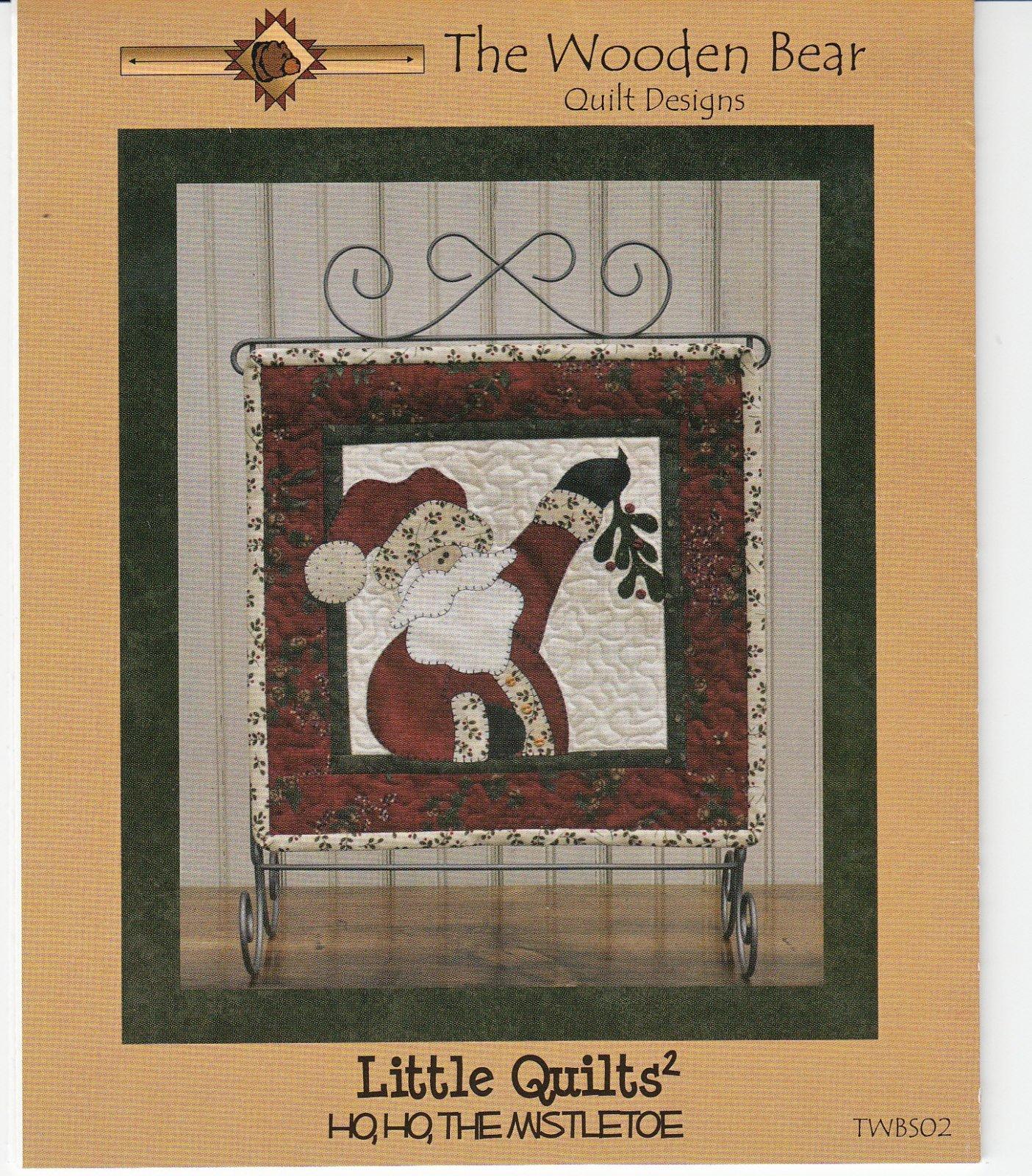 Little Quilts Squared Ho Ho The Mistletoe - December