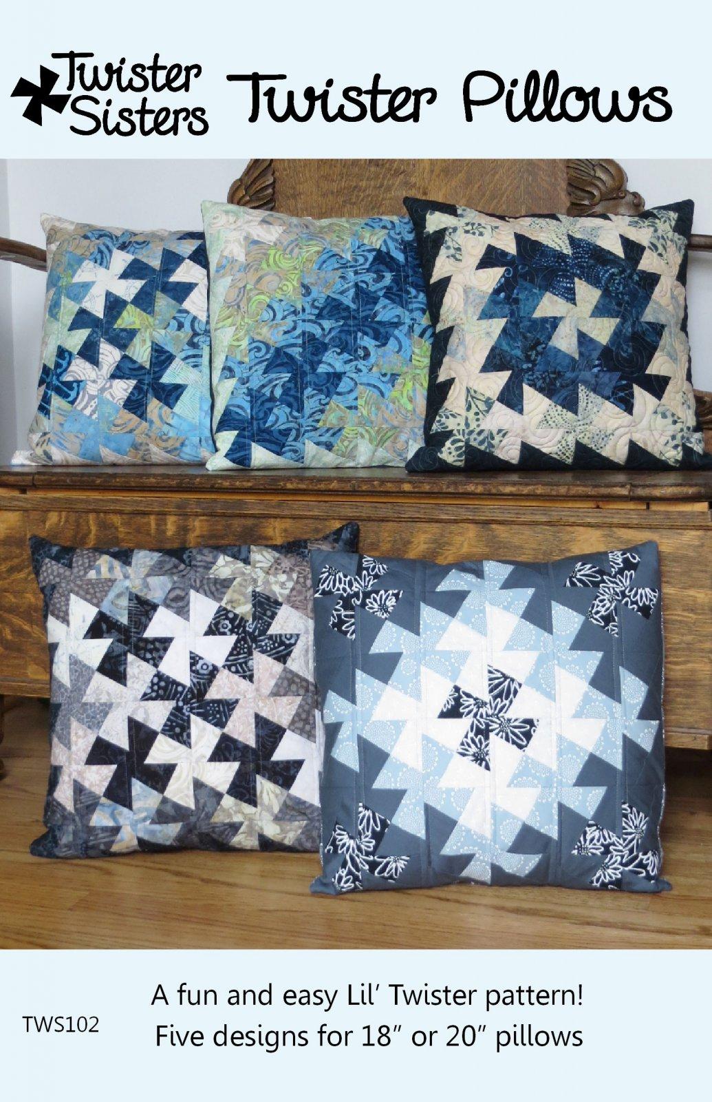 Twister Pillows