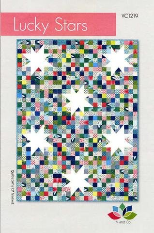 Lucky Stars Quilt Pattern by V and Co.