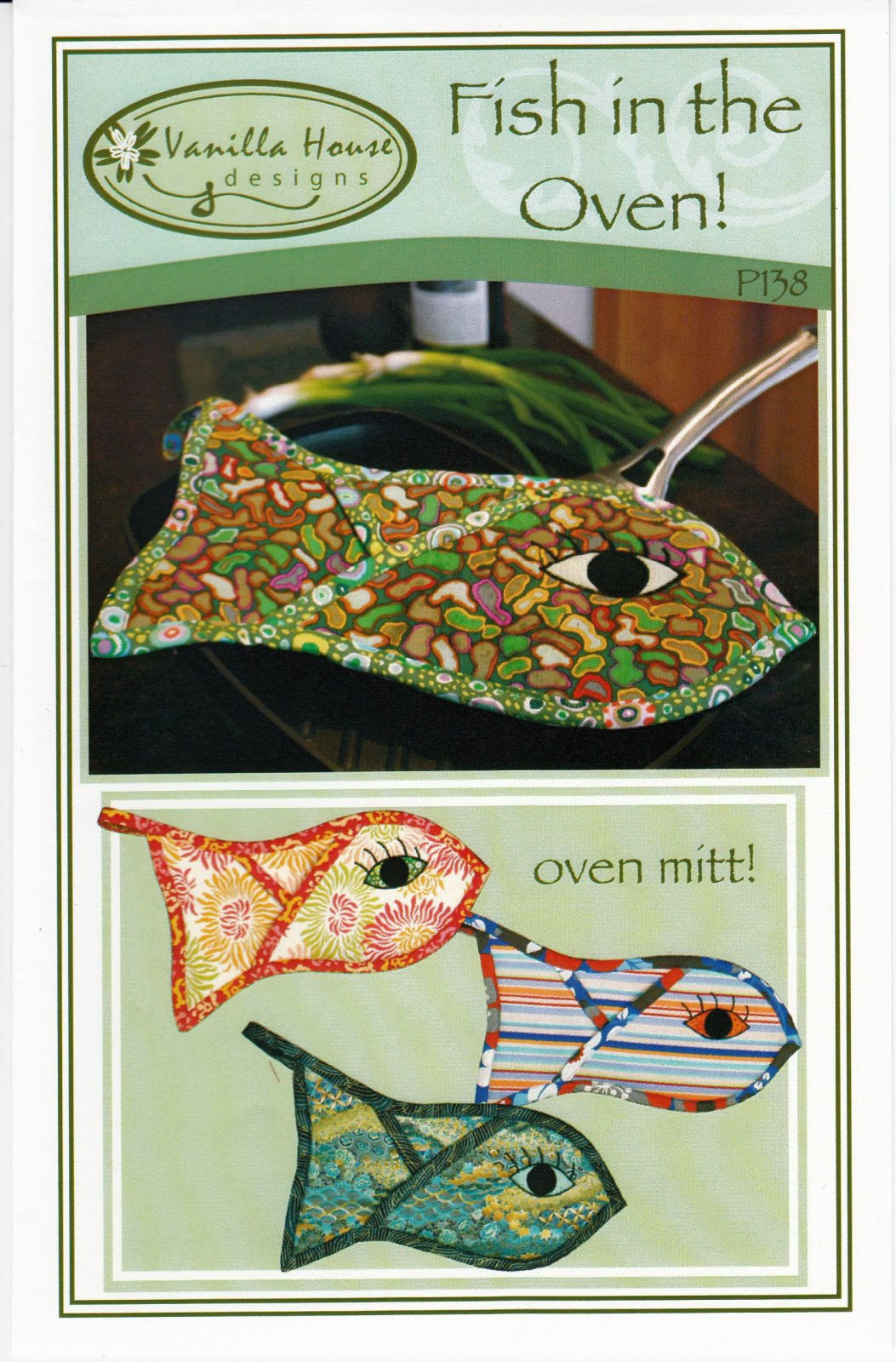 Fish In The Oven Mitt