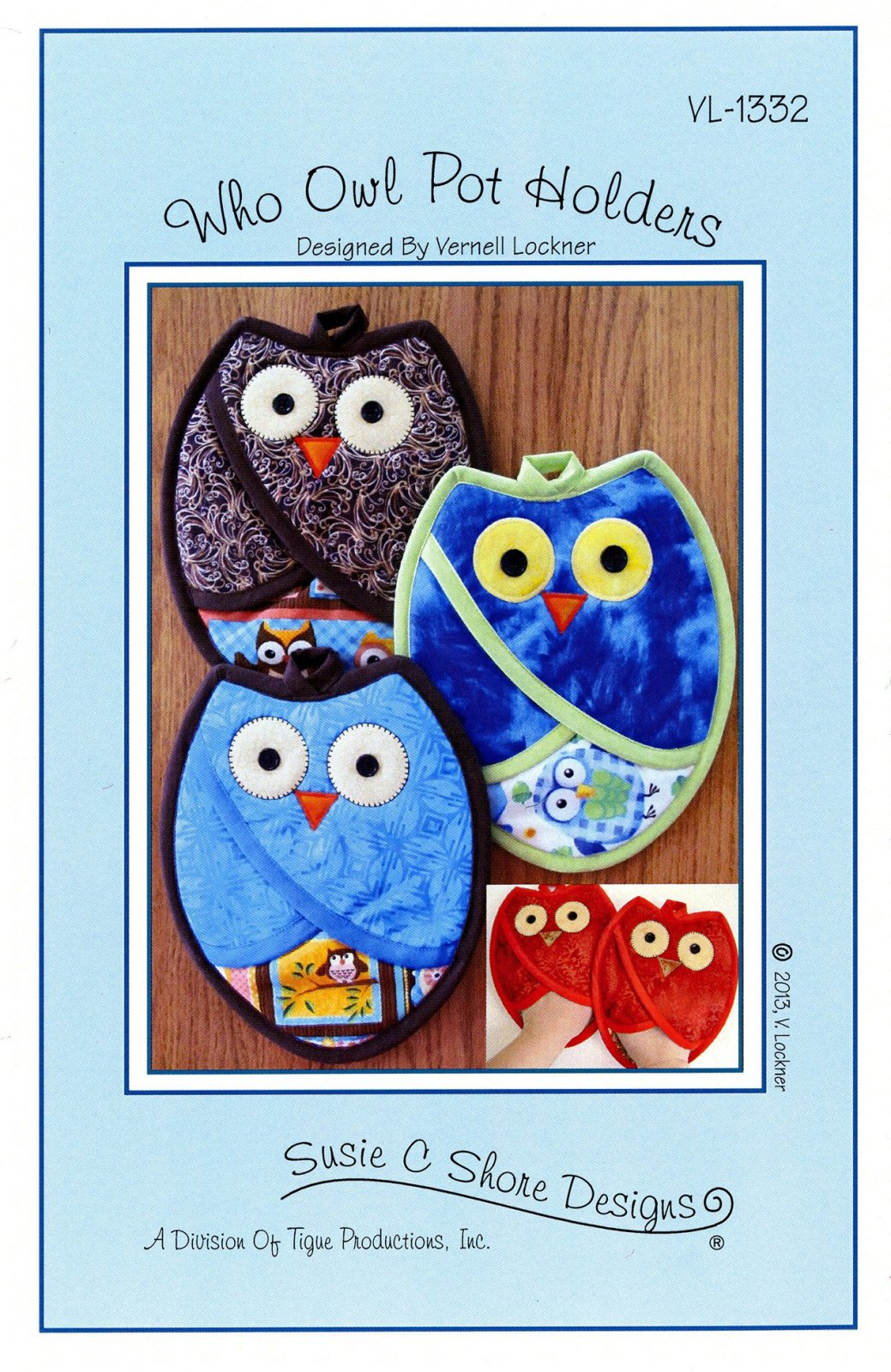 Who Owl Pot Holders