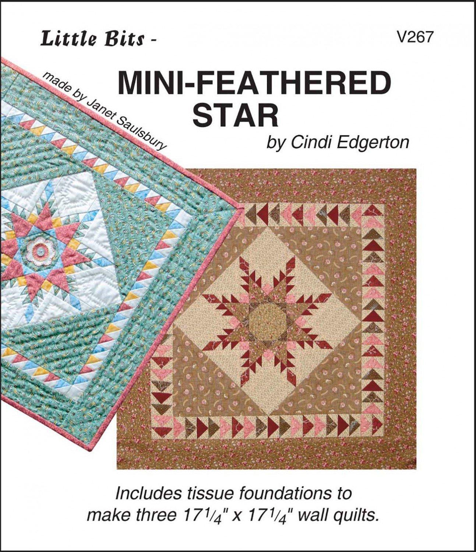 Little Bits Mini Feathered Star