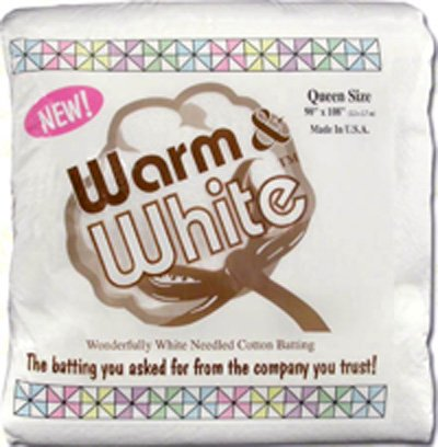 Warm & White Queen Size 90 x 108