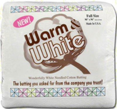 Warm & White Full Size 90 x 96