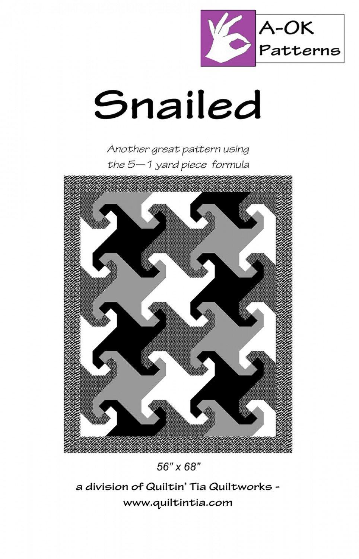 Snailed A Ok 5 Yard Pattern