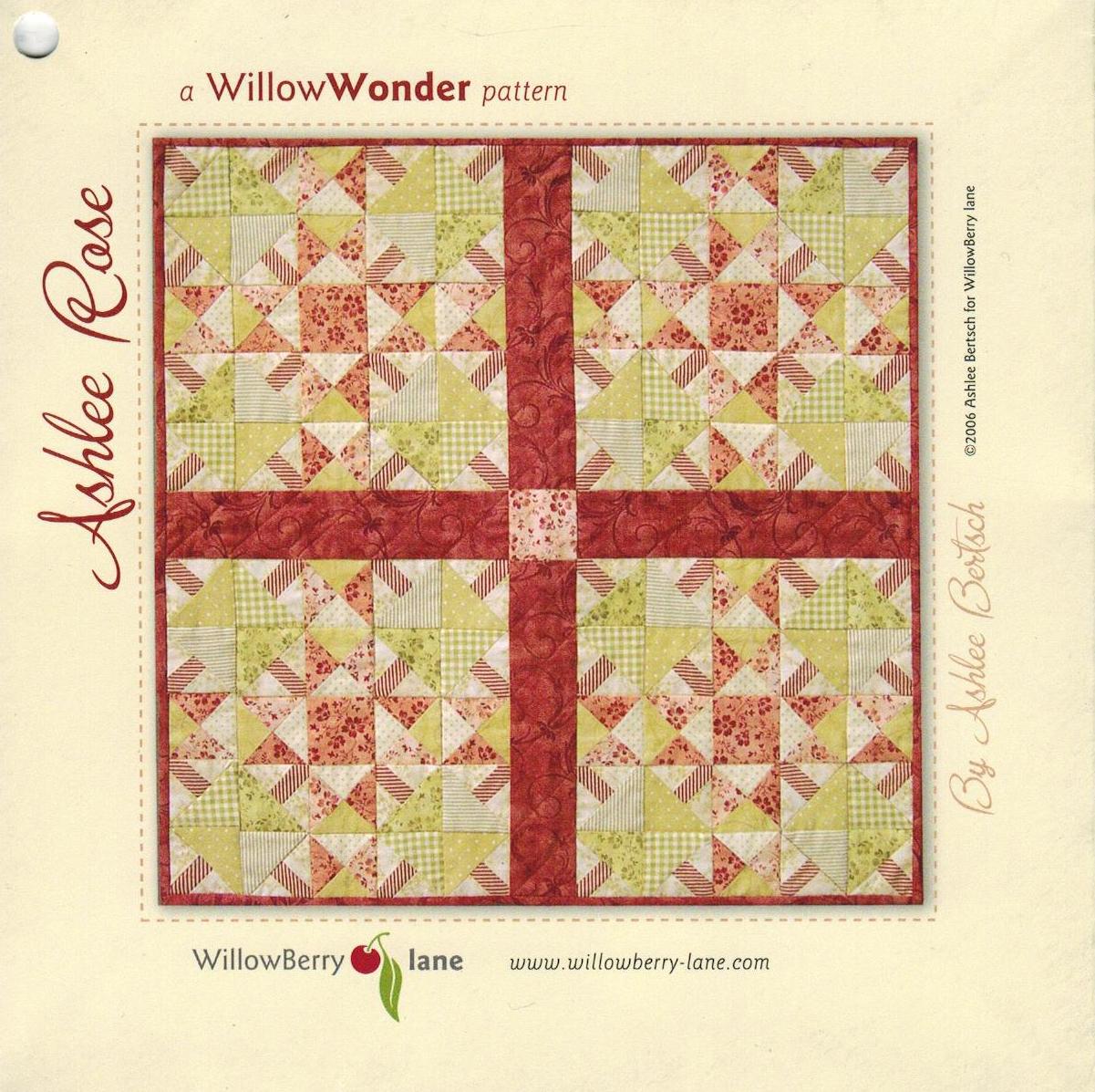 Ashlee Rose Pattern