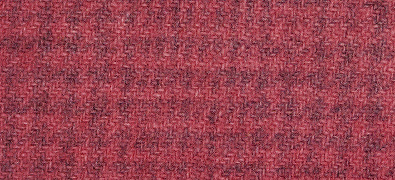 Wool Fat Quarter Glen Plaid Begonia