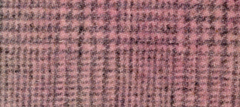 Wool Fat Quarter Glen Plaid Emma's Pink