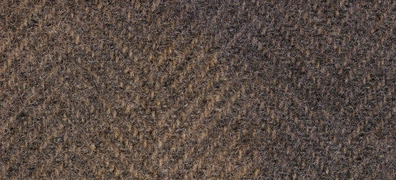 Wool Fat Quarter Herringbone Chestnut