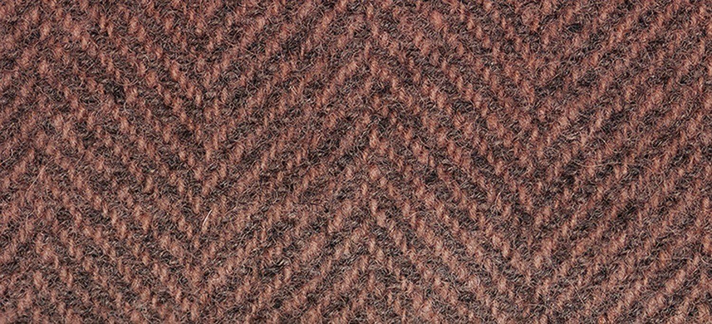 Wool Fat Quarter Herringbone Red Pear
