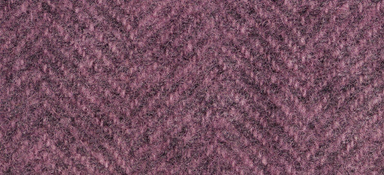 Wool Fat Quarter Herringbone Bourdeaux
