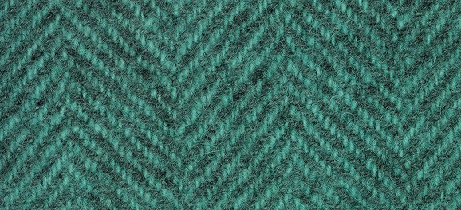 Wool Fat Quarter Herringbone Caribbean