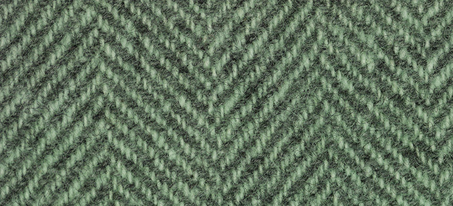 Wool Fat Quarter Herringbone Cactus