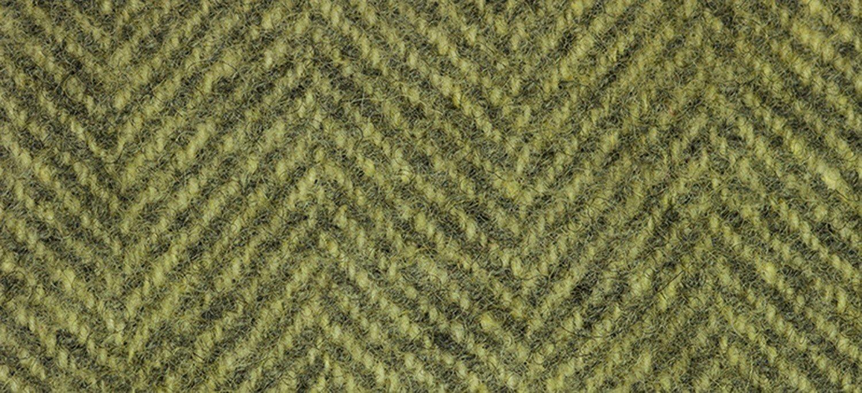 Wool Fat Quarter Herringbone Citronella