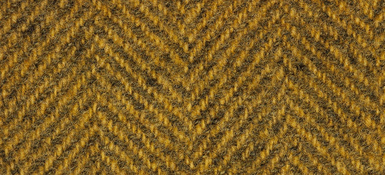 Wool Fat Quarter Herringbone Whiskey