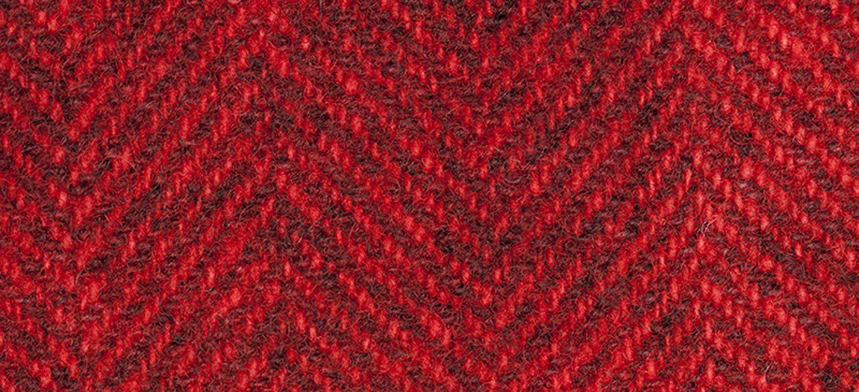 Wool Fat Quarter Herringbone Candy Apple