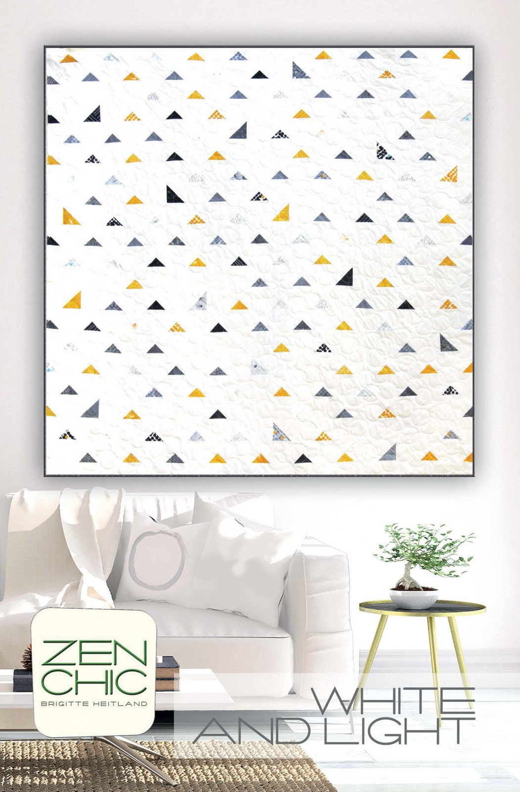 White and Light Quilt