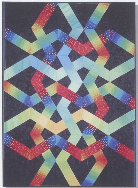 X Blocks Night Weave