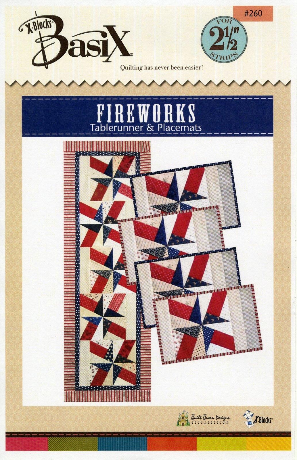 BasiX - Fireworks Table Runner