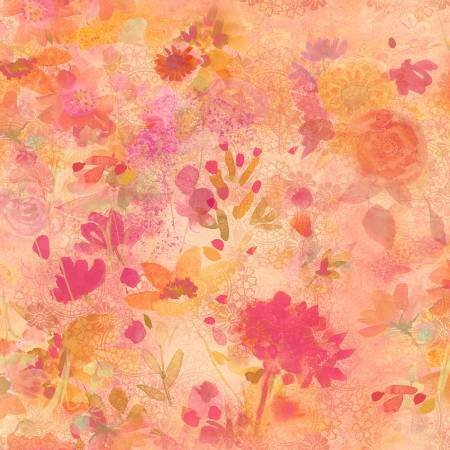 Good Vibes - Coral Floral