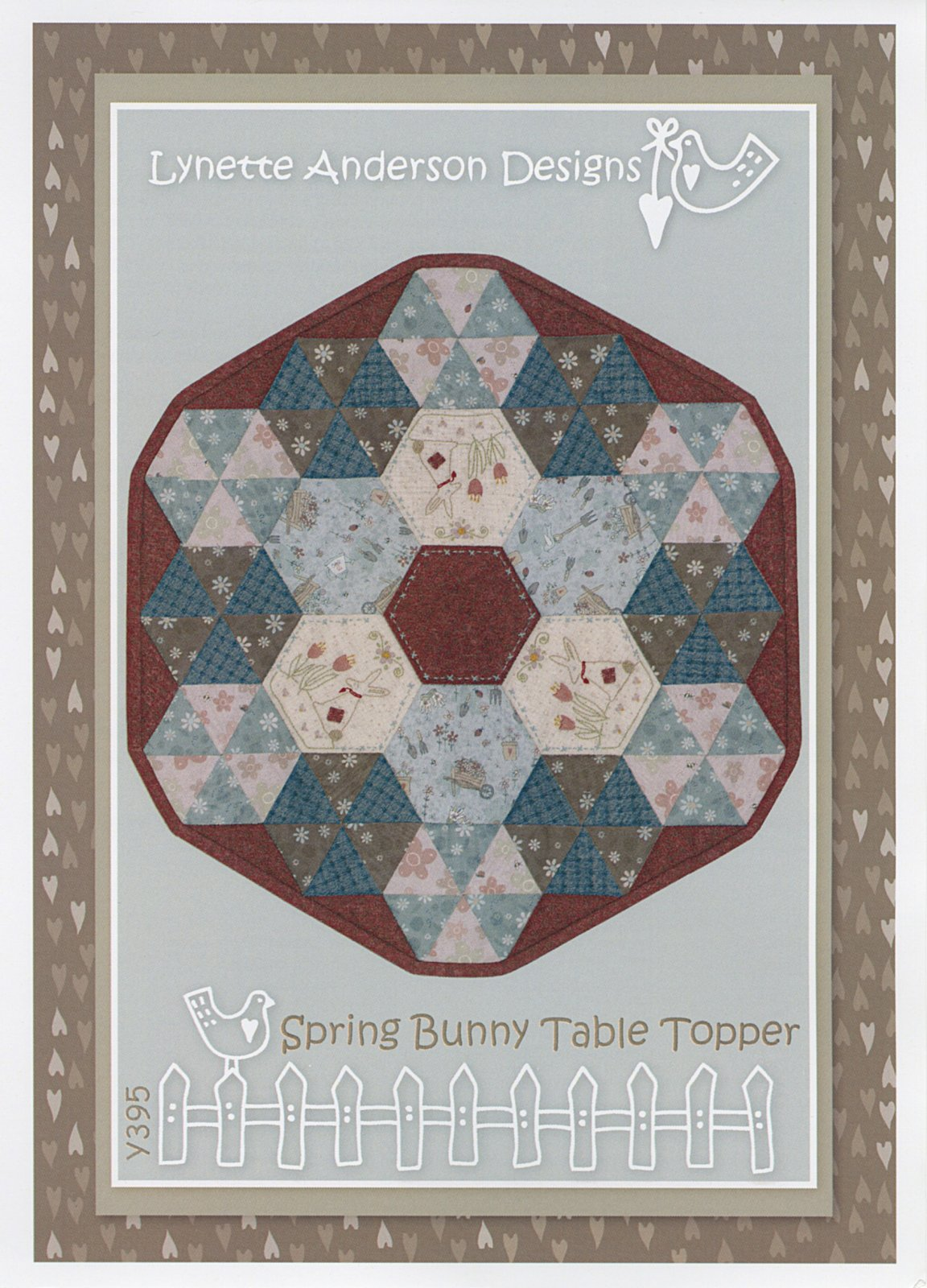 Spring Bunny Table Topper