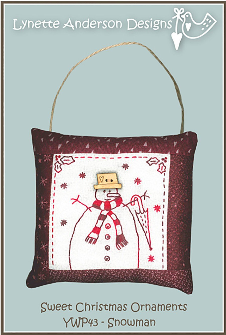 Sweet Christmas Ornaments - Snowman
