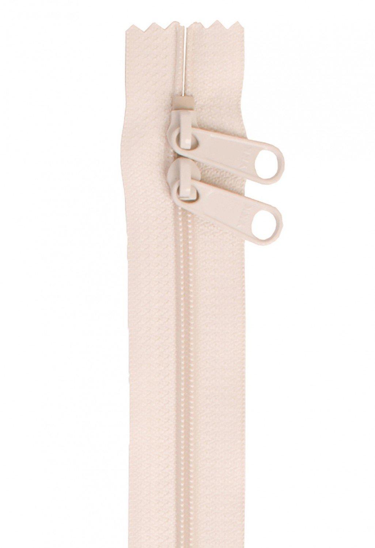 Handbag Zipper 30in Ivory