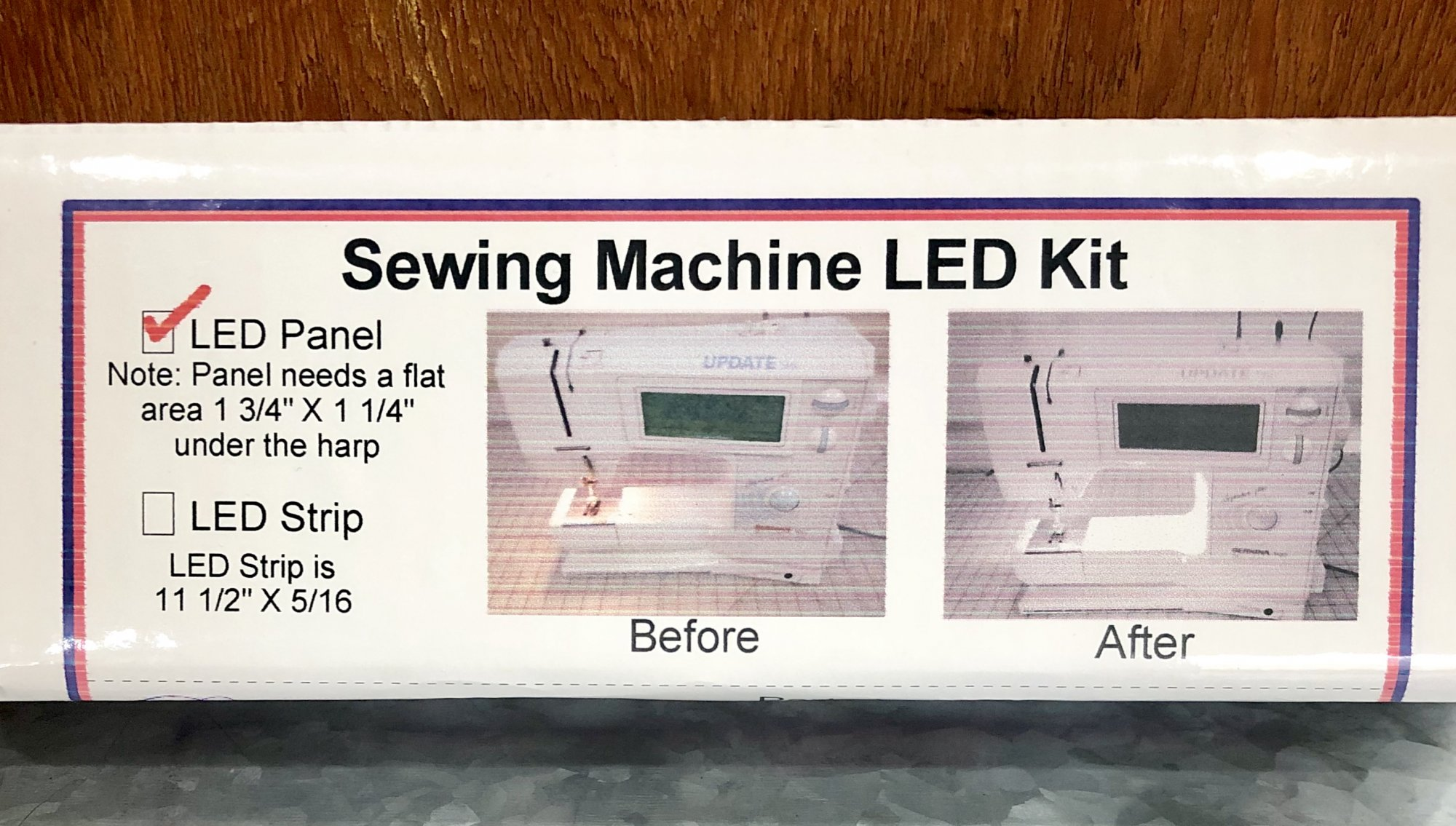 Sewing Machine LED Kit (LED Panel)
