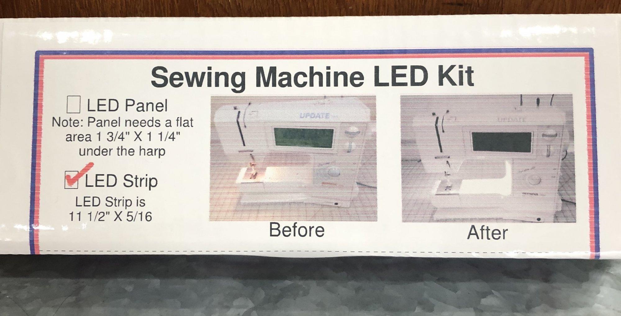 Sewing Machine LED Kit (LED Strip)