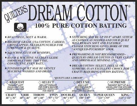 Natural Cotton Deluxe Super Queen